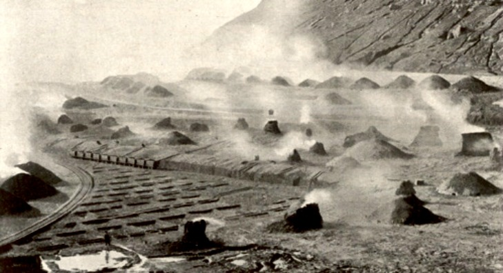 Teleras-de-Calcinacion-en-Rio-Tinto.-1904